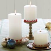 Fabulous christmas decoration ideas using candles 25