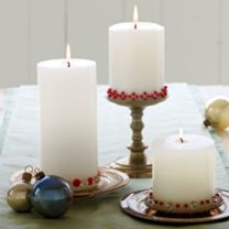 Fabulous christmas decoration ideas using candles 25