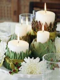 Fabulous christmas decoration ideas using candles 34