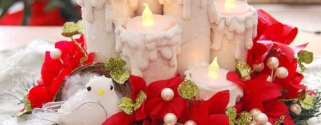 Fabulous christmas decoration ideas using candles 39