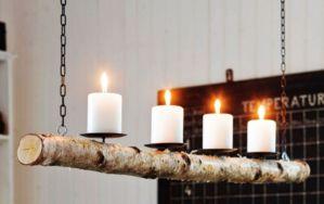 Fabulous christmas decoration ideas using candles 42