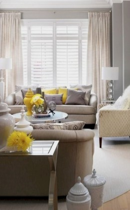Gorgeous yellow accent living rooms inspiration ideas 03