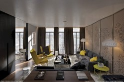 Gorgeous yellow accent living rooms inspiration ideas 08