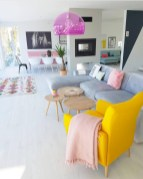 Gorgeous yellow accent living rooms inspiration ideas 11