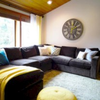 Gorgeous yellow accent living rooms inspiration ideas 22