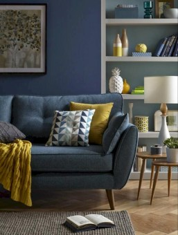 Gorgeous yellow accent living rooms inspiration ideas 36
