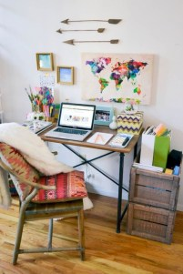 Inspirational home office desks ideas you will totally love 14