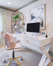 Inspirational home office desks ideas you will totally love 21