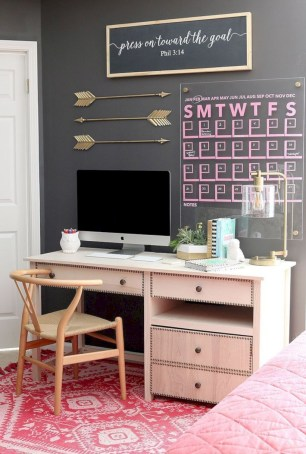 Inspirational home office desks ideas you will totally love 26