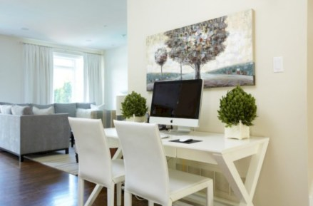 Inspirational home office desks ideas you will totally love 37