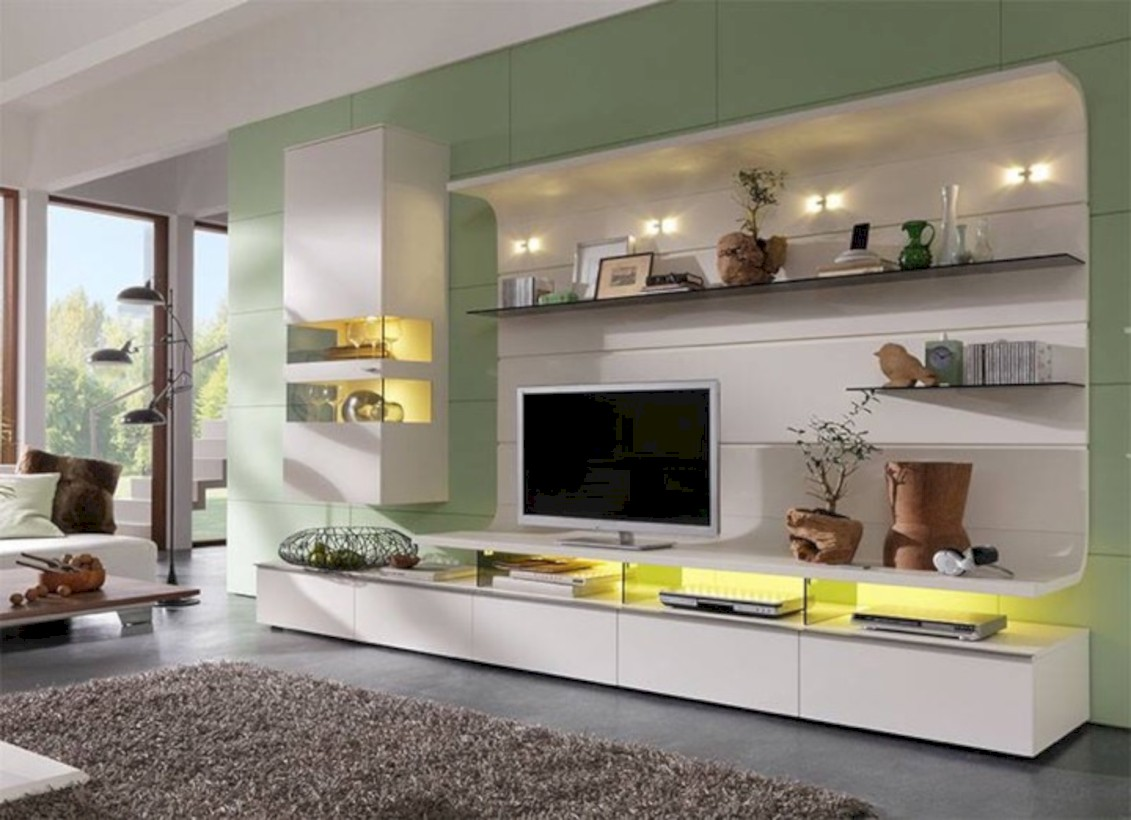 Modern living room wall units ideas with storage inspiration ...