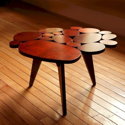 Modern and creative coffee tables design ideas 26