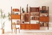 Original mid century modern bookcases ideas you'll love 09