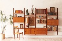 Original mid century modern bookcases ideas you'll love 09