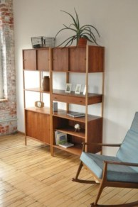 Original mid century modern bookcases ideas you'll love 14