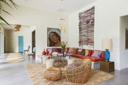 48 Relaxing Moroccan Living Room Decoration Ideas - Round Decor
