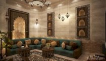 Relaxing moroccan living room decoration ideas 44