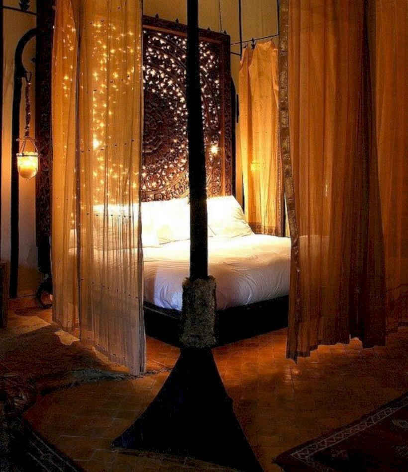 Romantic bedroom lighting ideas you will totally love 21