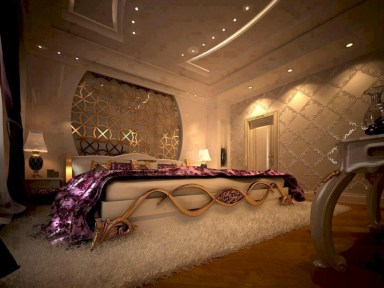 Romantic bedroom lighting ideas you will totally love 22