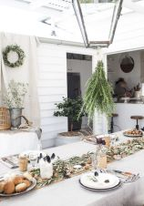 Simple rustic christmas table settings ideas 04
