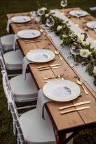 Simple rustic christmas table settings ideas 09