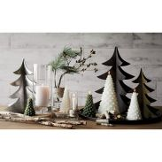 Simple rustic christmas table settings ideas 11