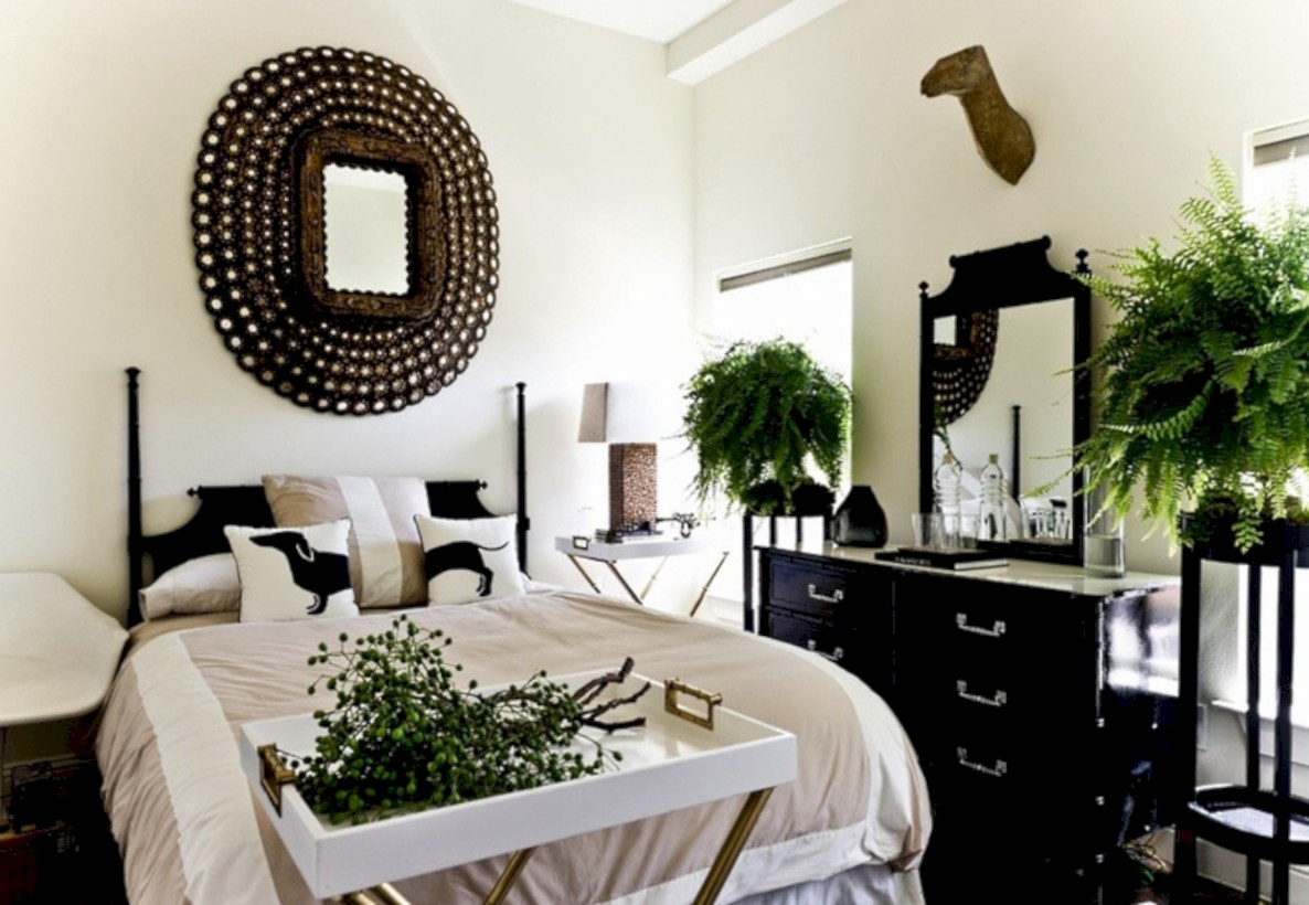 Stunning indoor plants ideas for your living room and bedroom 04