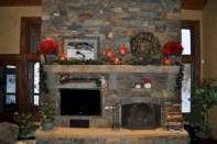 Stunning indoor rustic christmas decoration ideas 05