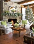 Stunning indoor rustic christmas decoration ideas 21