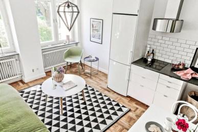 Stylish studio apartment floor plans ideas 12