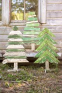 Stylish wood christmas decoration ideas 04