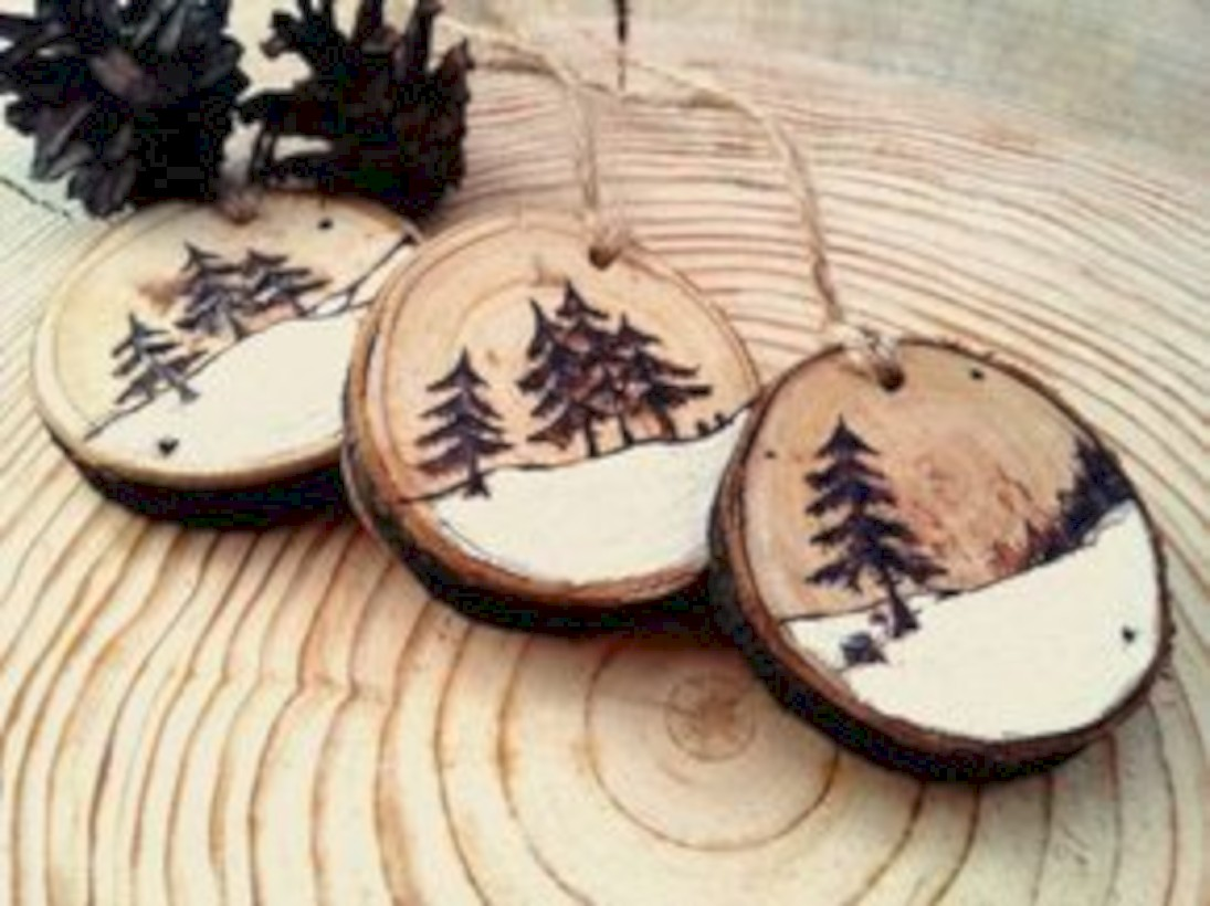 36 Stylish Wood Christmas Decoration Ideas