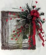 Stylish wood christmas decoration ideas 07