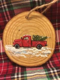 Stylish wood christmas decoration ideas 11