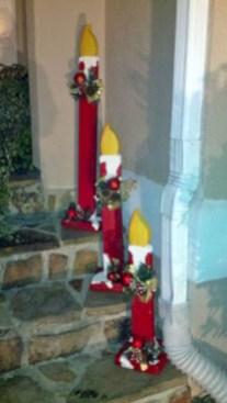 Stylish wood christmas decoration ideas 12
