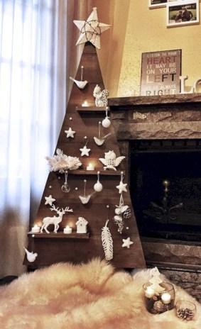 Stylish wood christmas decoration ideas 33