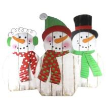 Stylish wood christmas decoration ideas 35