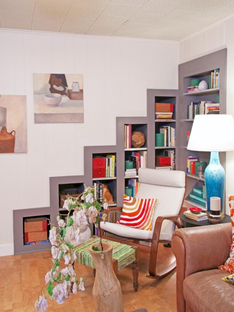 Unique and modern wall shelves beautiful storage ideas 27