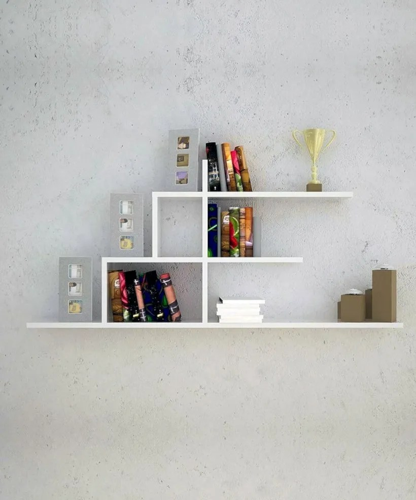 Unique and modern wall shelves beautiful storage ideas 32