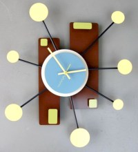 Unique modern style wall clocks inspirations ideas 16
