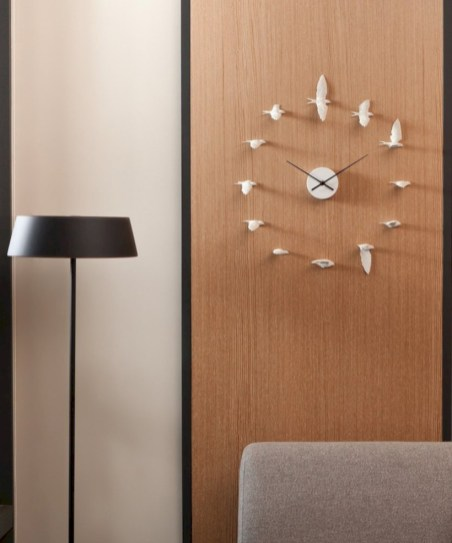 Unique modern style wall clocks inspirations ideas 27