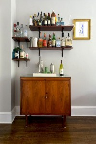 Affordable apartment coffee bar cart inspirations ideas 02