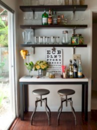 Affordable apartment coffee bar cart inspirations ideas 03