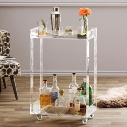 Affordable apartment coffee bar cart inspirations ideas 05