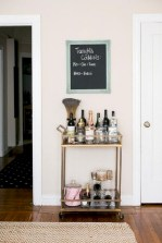 Affordable apartment coffee bar cart inspirations ideas 09