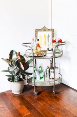 Affordable apartment coffee bar cart inspirations ideas 11