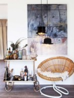 Affordable apartment coffee bar cart inspirations ideas 15