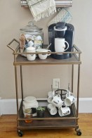 Affordable apartment coffee bar cart inspirations ideas 36