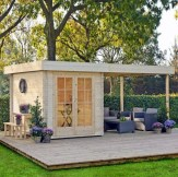 Awesome garden shed design ideas 24