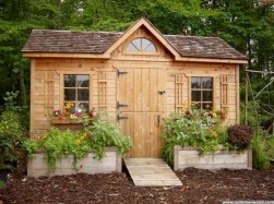 Awesome garden shed design ideas 32